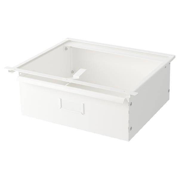 IVAR دُرج, أبيض, 39x30x14 سم