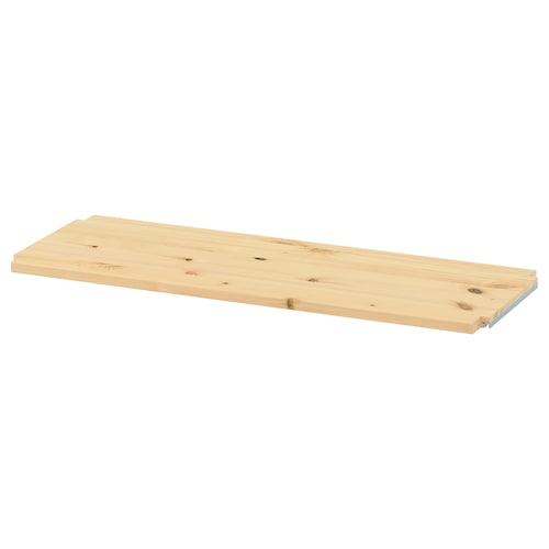IVAR shelf pine 83 cm 30 cm 1.8 cm 35 kg