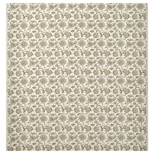JUNIMAGNOLIA fabric natural/green 230 g/m² 150 cm