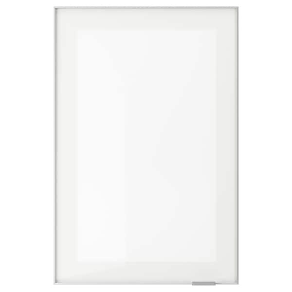 JUTIS باب زجاج, زجاج محبب/الومينيوم, 40x60 سم