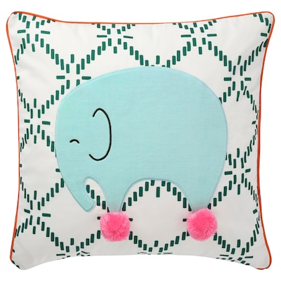KÄPPHÄST Cushion, elephant, 50x50 cm