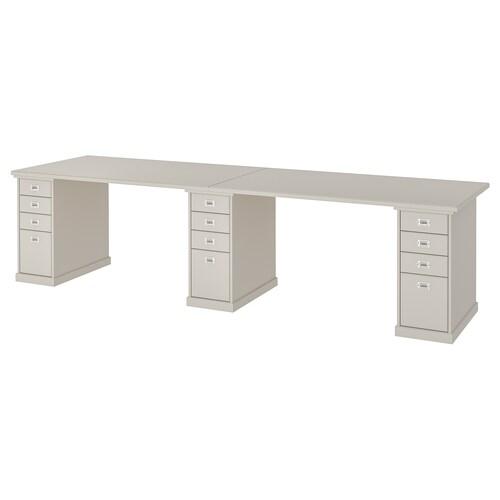 KLIMPEN table light grey 300 cm 75 cm 73 cm 50 kg