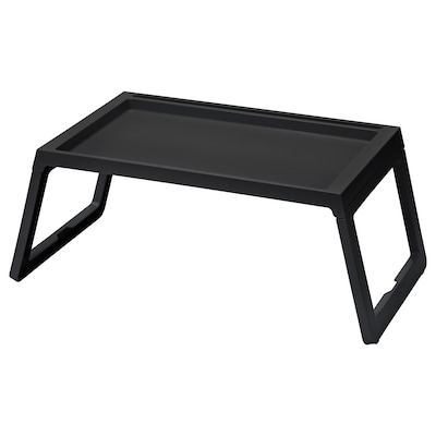 KLIPSK Bed tray, black
