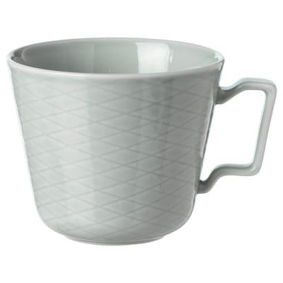 KRUSTAD Mug, light grey, 40 cl
