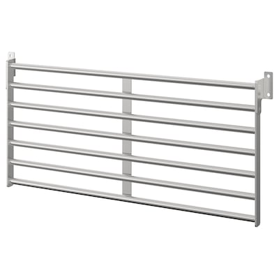 KUNGSFORS Wall grid, stainless steel