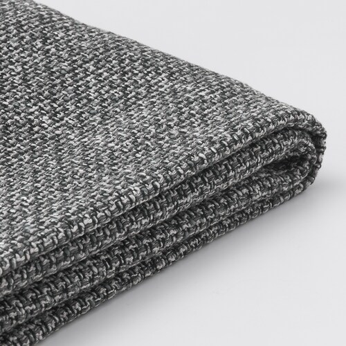 LIDHULT cover f open end section w storage Lejde grey/black