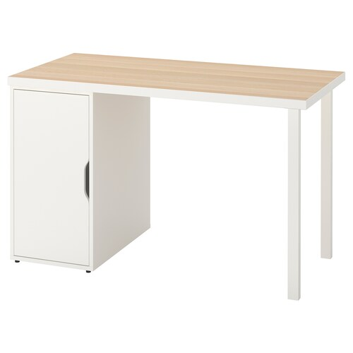 LINNMON / GODVIN table white white stain/white 120 cm 60 cm 74 cm