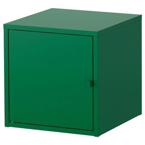 LIXHULT cabinet metal/dark green 35 cm 35 cm 35 cm