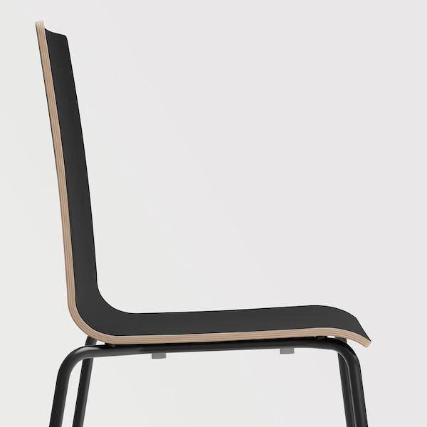 MARTIN كرسي, أسود/أسود