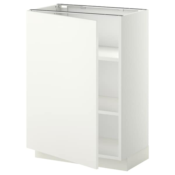 METOD base cabinet with shelves white/Häggeby white 60.0 cm 39.2 cm 88.0 cm 37.0 cm 80.0 cm