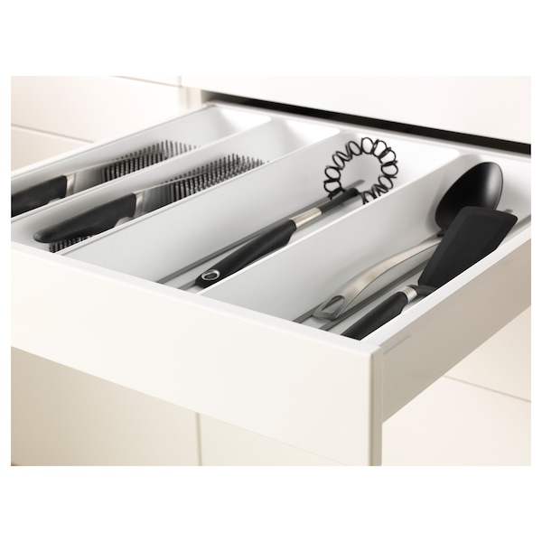 METOD / MAXIMERA خزانة عالية لفرن/فرن مع ب./2 د., أبيض/Bodbyn أبيض-عاجي, 60x60x200 سم