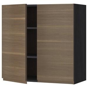 Frame colour: Wood effect black.
