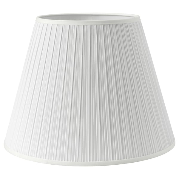 MYRHULT / KRYSSMAST Floor lamp, white/brass-plated