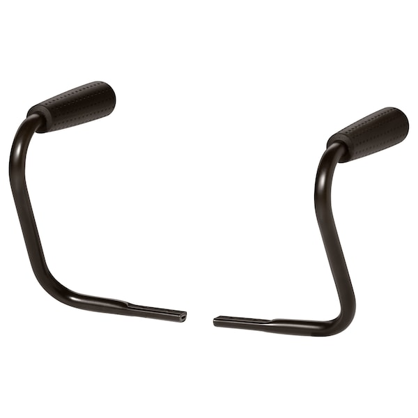 NOMINELL Pair of armrests, black