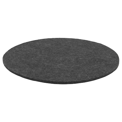 ODDBJÖRG Chair pad, grey, 35 cm