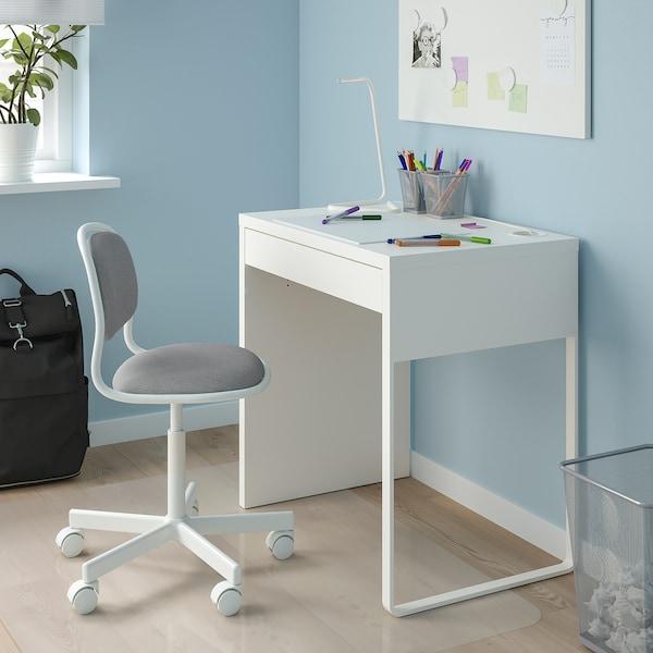 ÖRFJÄLL كرسي مكتب أطفال, أبيض/Vissle رمادي فاتح