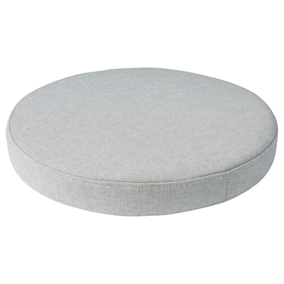 OMTÄNKSAM Chair cushion, Orrsta light grey, 38 cm