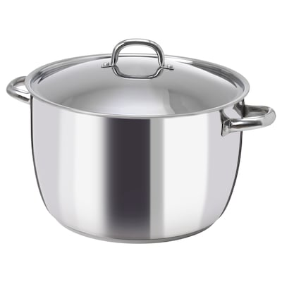 OUMBÄRLIG Pot with lid, 15 l