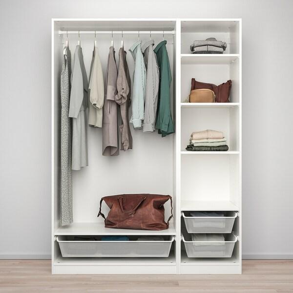 PAX wardrobe combination white 150.0 cm 58.0 cm 201.0 cm