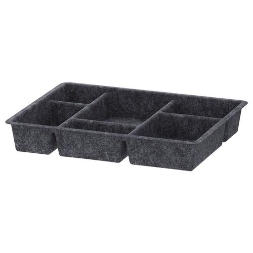 RAGGISAR tray dark grey 40 cm 30 cm 6 cm
