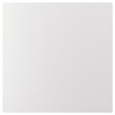 RÅHULT Custom made wall panel, white mineral effect/quartz, 1 m²x2.0 cm