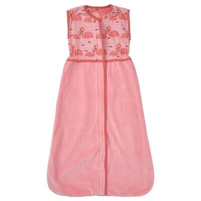 RÖRANDE Sleeping bag, flamingo/pink, 84 cm