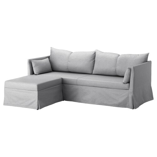 SANDBACKEN corner sofa-bed Frillestad light grey 212 cm 69 cm 78 cm 149 cm 70 cm 33 cm 140 cm 200 cm