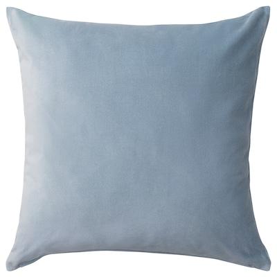 SANELA غطاء وسادة, أزرق فاتح, 50x50 سم