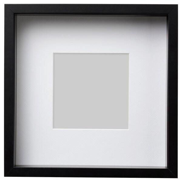 SANNAHED برواز, أسود, 25x25 سم