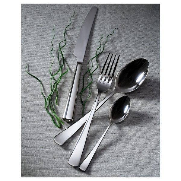 SEDLIG 24-piece cutlery set, stainless steel