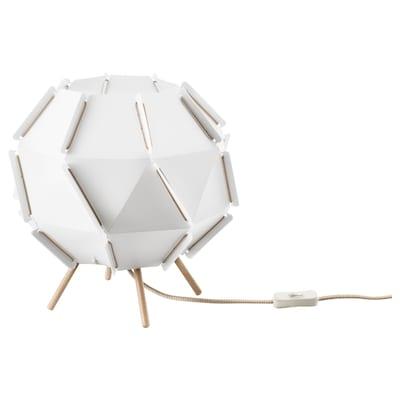 SJÖPENNA Table lamp, white