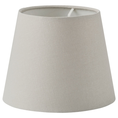 SKOTTORP Lamp shade, light grey, 19 cm