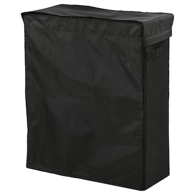 SKUBB Laundry bag with stand, black, 80 l