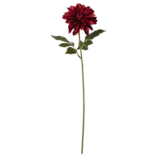 SMYCKA artificial flower in/outdoor Dahlia/red 67 cm