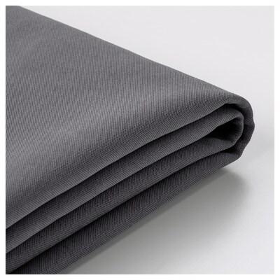 SÖDERHAMN Cover for chaise longue, Samsta dark grey