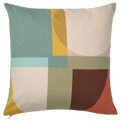 STENMÄTARE Cushion cover, multicolour, 50x50 cm