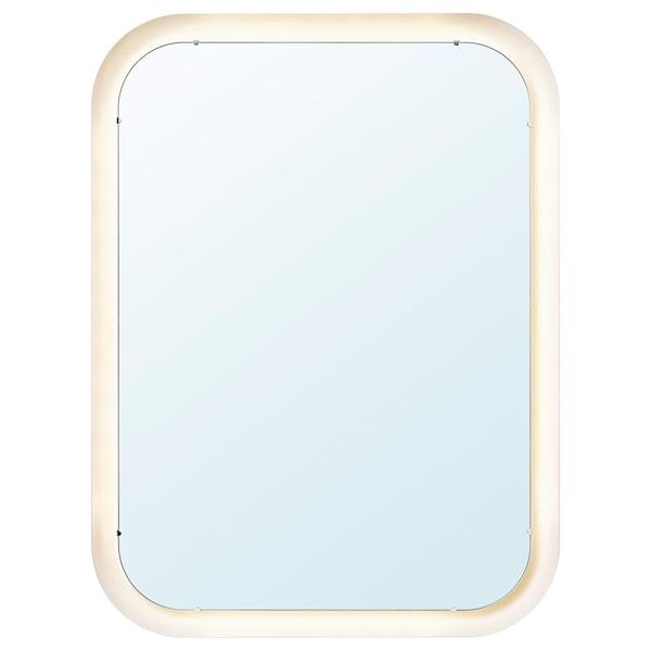 Storjorm مرآة بإضاءة متكاملة أبيض ايكيا