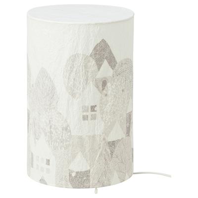 STRÅLA LED table lamp, landscape, 30 cm