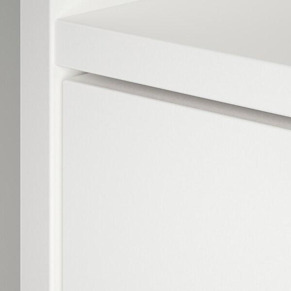 SUNDLANDET Open wardrobe, white, 79x44x187 cm