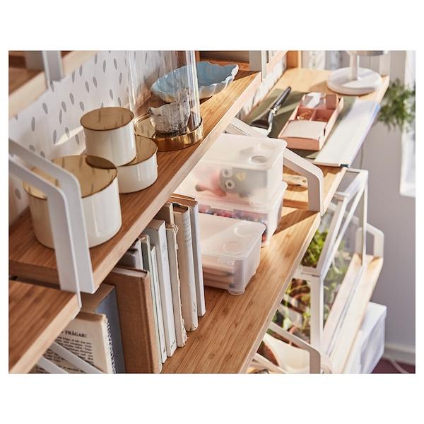 SVALNÄS Shelf, bamboo, 61x25 cm