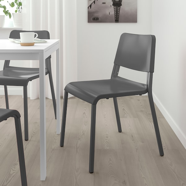 TEODORES Chair, dark grey