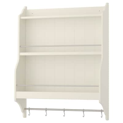 TORNVIKEN Plate shelf, off-white, 80x100 cm