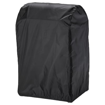 TOSTERÖ Cover for barbecue, black, 72x52 cm