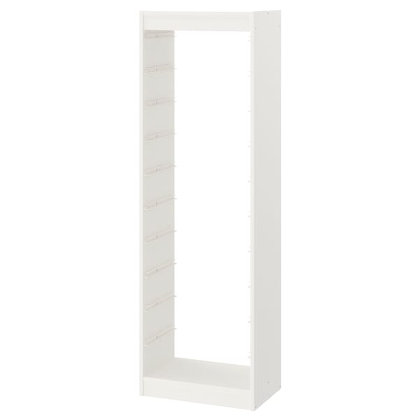 TROFAST Frame, white, 46x30x145 cm