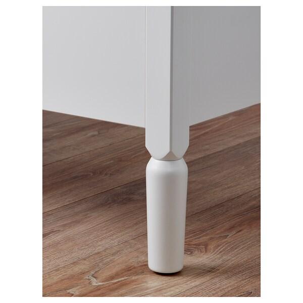 TYSSEDAL Storage stool, white