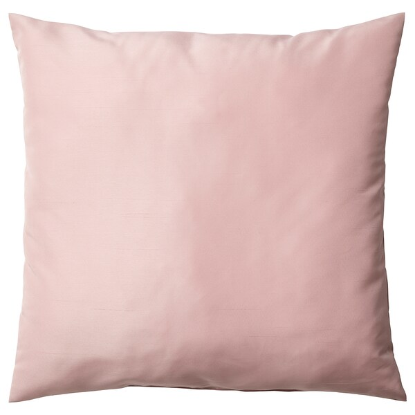ULLKAKTUS Cushion, light pink, 50x50 cm
