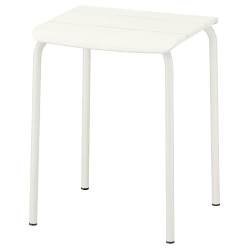 VÄDDÖ stool, outdoor white 36 cm 33 cm 46 cm