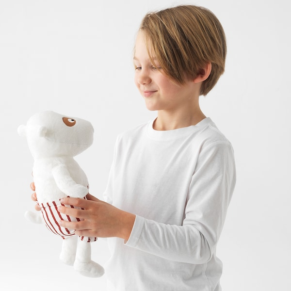 VÄNLIGHET soft toy dog 32 cm