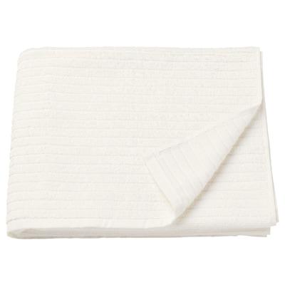 VÅGSJÖN Bath towel, white, 70x140 cm