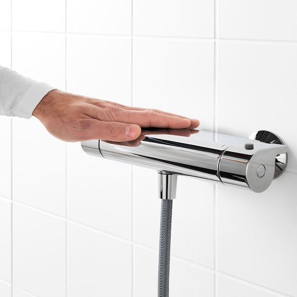 VALLAMOSSE Thermostatic shower mixer, chrome-plated, 150 mm